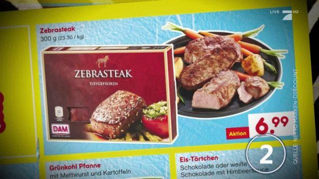Zebrafleisch beim Discounter: Darf man das essen?