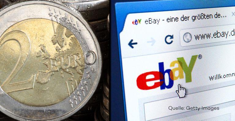2 Euro Münze Wird Auf Ebay Für 80000 Euro Angeboten