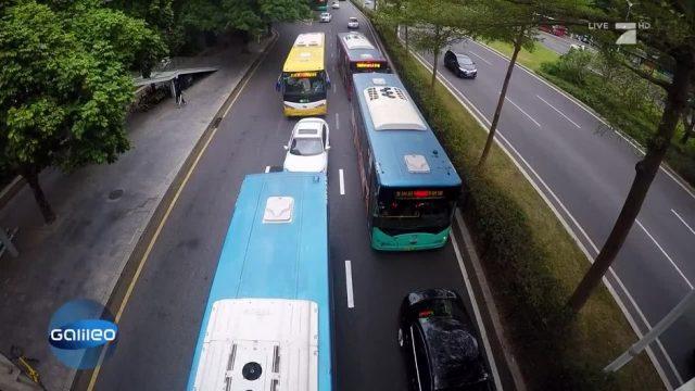 Der Nahverkehr in Shenzen: Diese Stadt fährt nur mit Strom