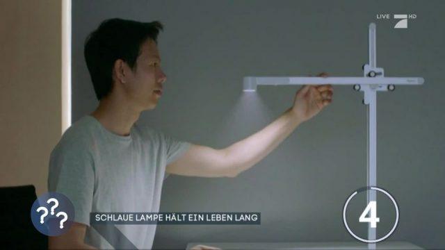 Diese smarte Lampe soll ein Leben lang halten