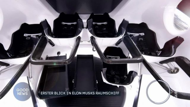 Erster Blick in Elon Musks Raumschiff