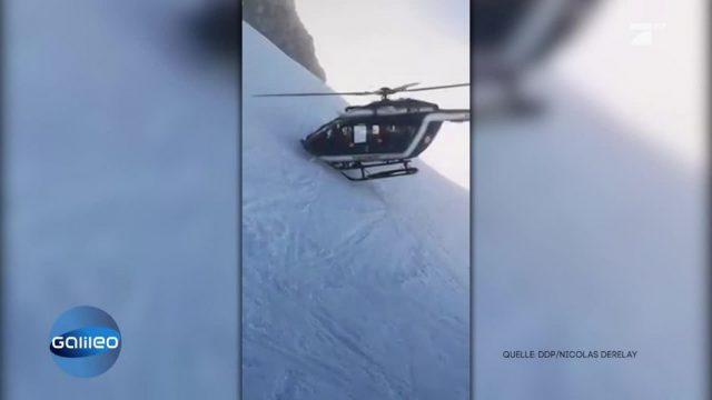 Unglaubliche Rettungsaktion eines Helikopters