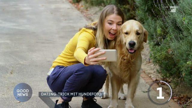 Dating: Erhöhen Hundefotos die Flirt-Chancen?