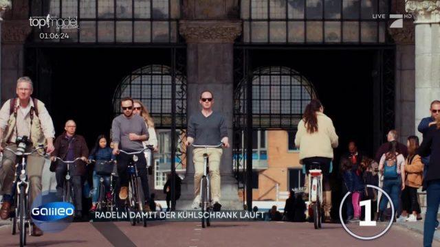 Den täglichen Fahrrad-Verkehr für saubere Energie nutzen