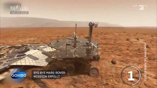 NASA gibt Mars-Rover Opportunity auf