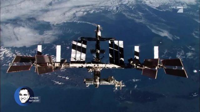 Aimans Antwort: Wie spät ist es auf der ISS?