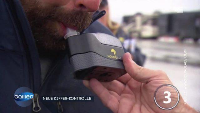 Das kann das weltweit erste Marihuana-Atemmessgerät