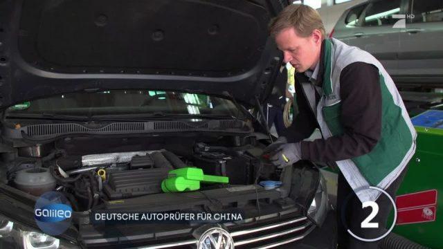 Deutsche Autoprüfer in China