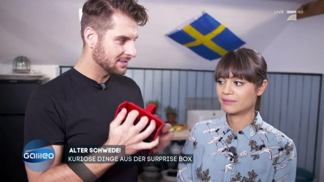 Die Galileo Surprise Box aus Schweden