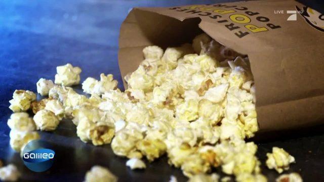 Was tun, wenn man das Popcorn eines anderen Besuchers verschütte?