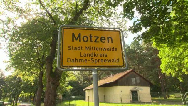 """Woher kommt der Ortsname """"Motzen""""?"""