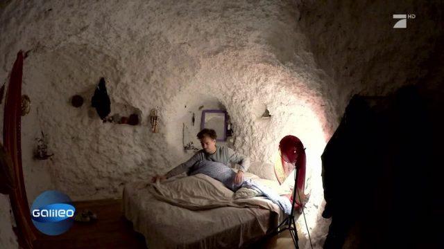 Die Höhlenmenschen von Granada