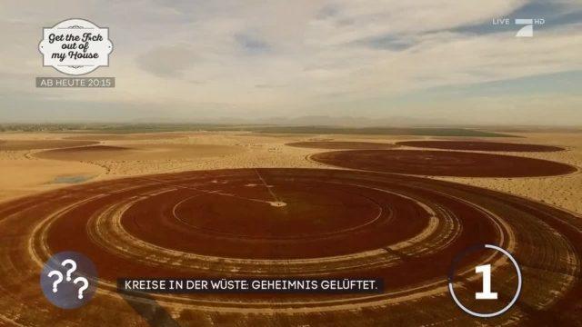 Geheimnis um Kreise in ägyptischen Wüste gelüftet