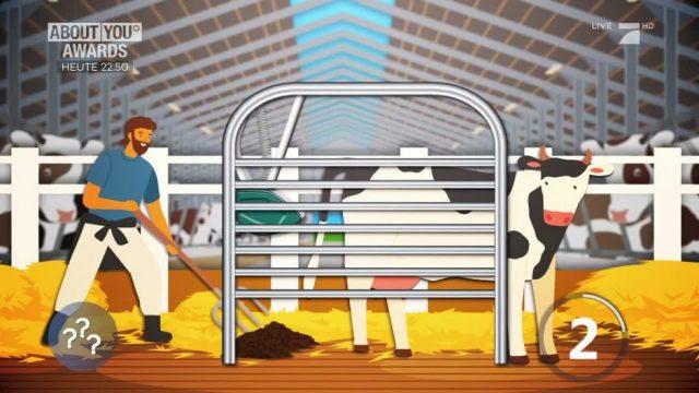 Kuh-Klos für ein besseres Klima