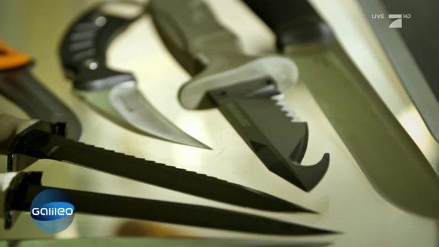 Messer-Razzia der Polizei: Wie man sich vor Messer-Attacken schützen kann