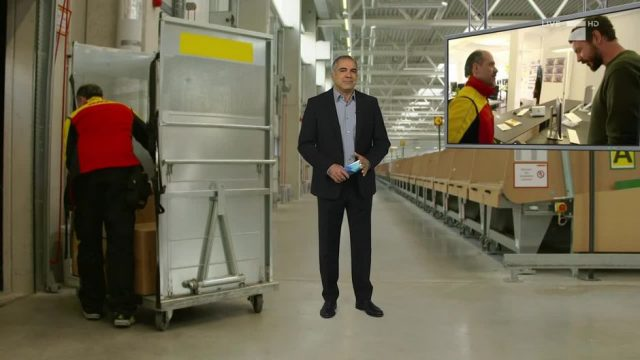 Montag: Zehn unangenehme Fragen an einen Paketzusteller