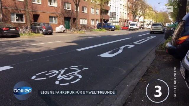 Neue Umweltspur in Düsseldorf