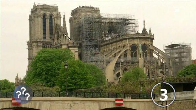 Notre-Dame nach dem verheerenden Brand