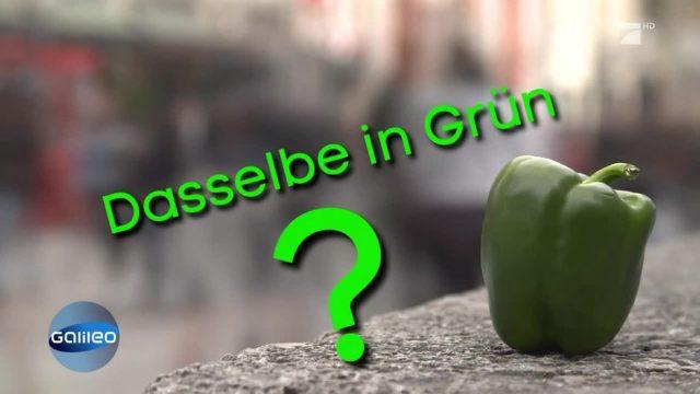 """Schlaumeier des Tages: """"Dasselbe in Grün""""?"""