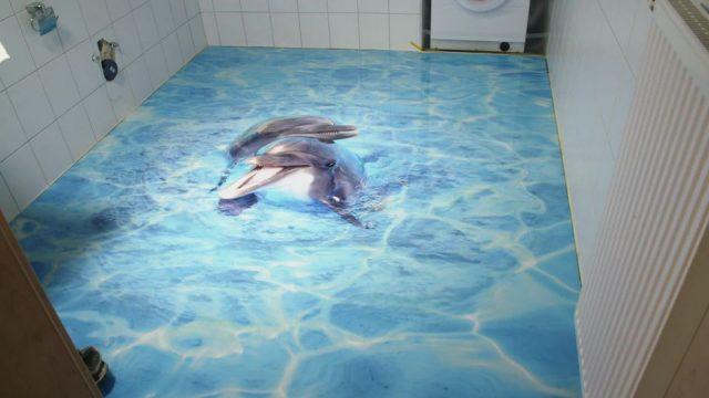 3D-Fußboden: So wird er verlegt