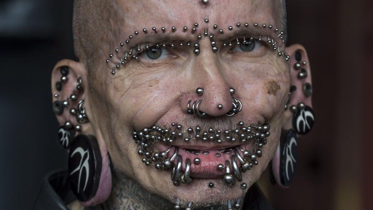 Piercings extrem intim Male Genital