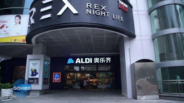 Die erste Aldi-Filiale in China