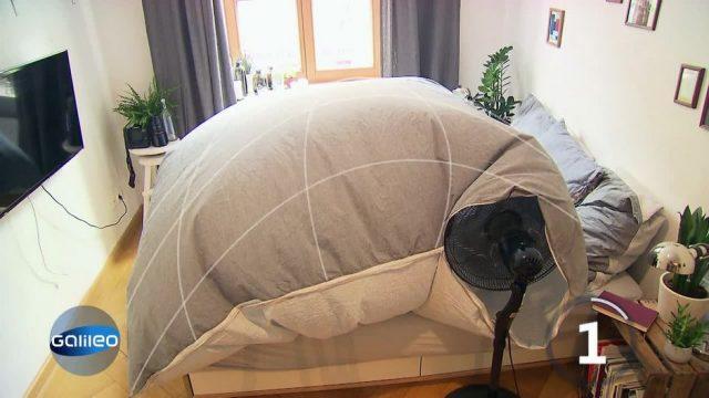 Do it yourself: Klimaanlage fürs Bett