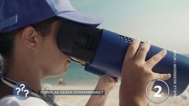 Durchblick: Sonnenbrand per Fernglas erkennen