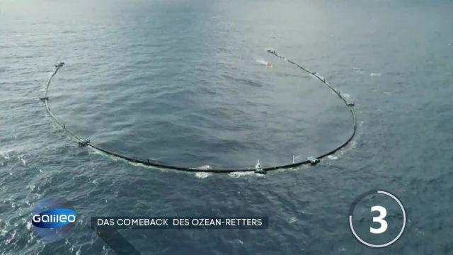 Ocean Cleanup: Das Comeback des Ozean-Retters