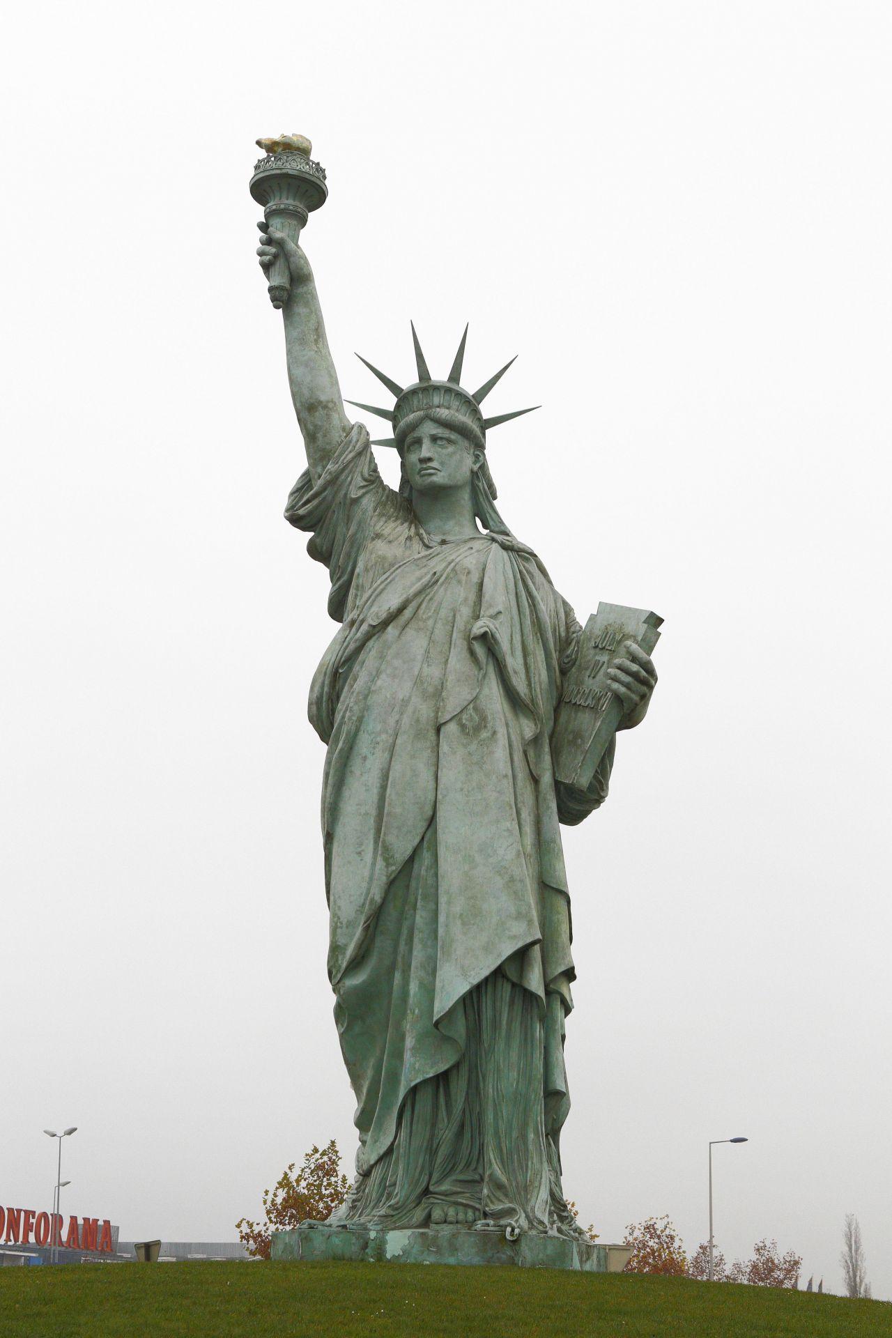 Nachbildung Freiheitsstatue
