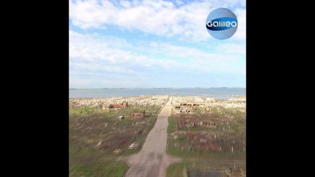 Epecuén verschwand vor über 30 Jahren, heute ist die argentinische Stadt wieder sichtbar