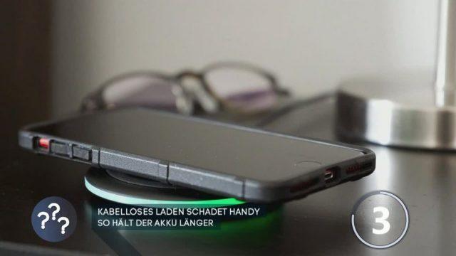 Frage des Tages: Kabelloses Laden schadet Handy
