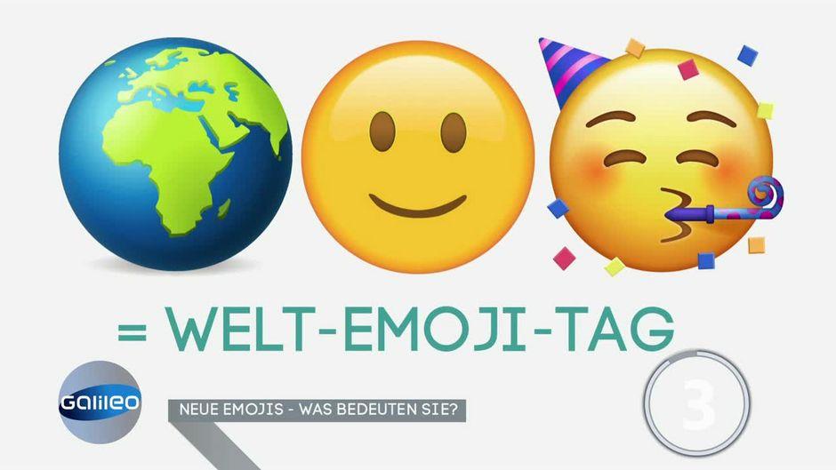 Die was emoji bedeuten Was Tun