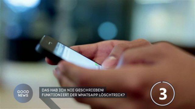 Funktioniert der Whatsapp Löschtrick?