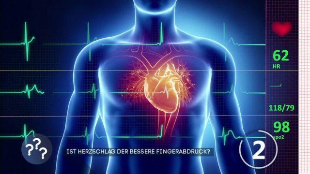 Ist der Herzschlag der bessere Fingerabdruck?