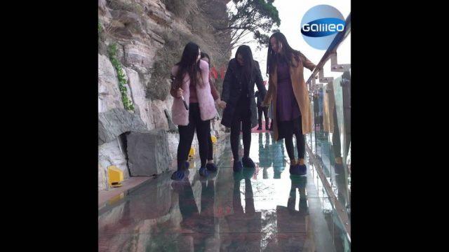 Skurrile Sehenswürdigkeiten: Ein Schritt auf dieser Brücke und das Glas splittert