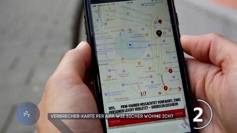Verbrecher Karte App