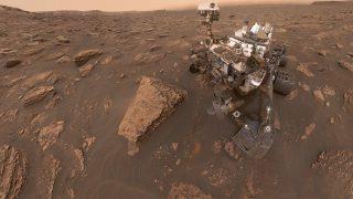 """Der Nasa-Mars-Rover """"Curiosity"""" am 15. Juni 2018"""