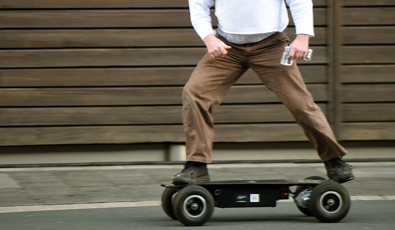 Elektrisches Skateboard