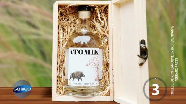 Atomik-Vodka aus Tschernobyl
