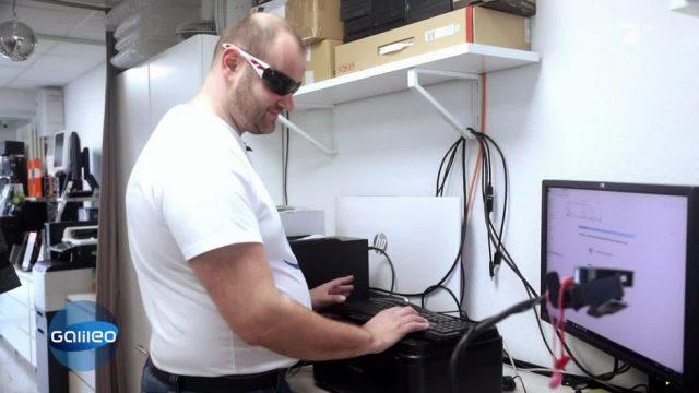 Der blinde Computer-Doktor aus Senftenberg