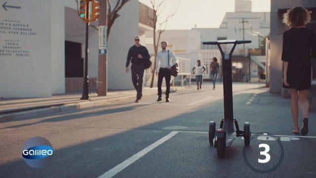 E-Scooter: Fahren die Roller bald auch autonom?