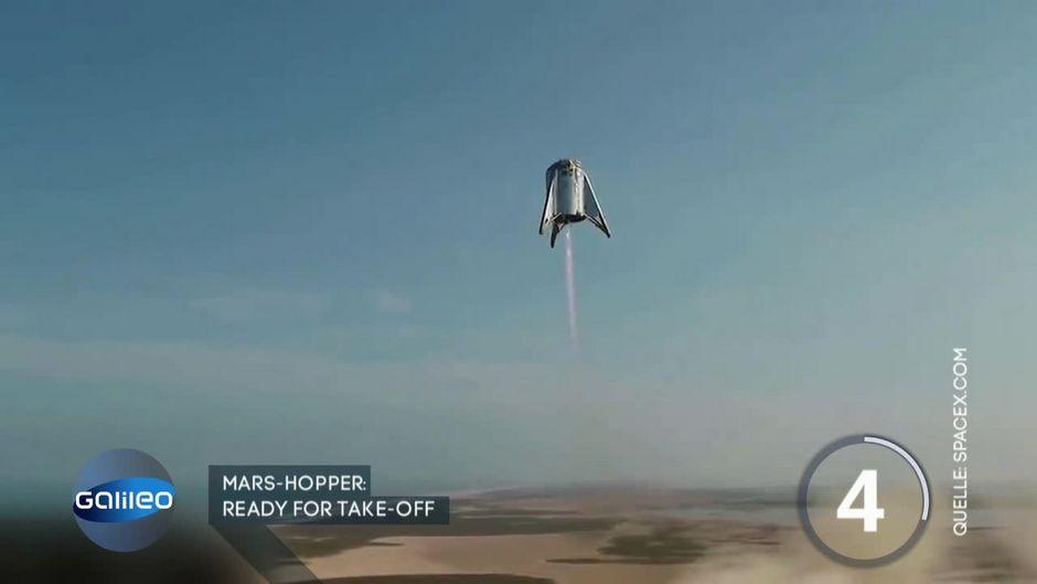 Erster Testflug von Elon Musks Mars-Rakete