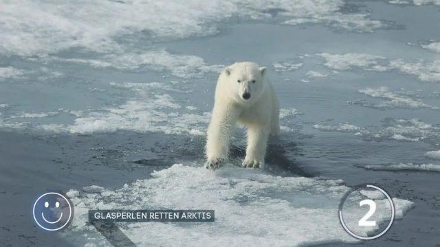 Glasperlen sollen Eisschmelze in der Arktis stoppen