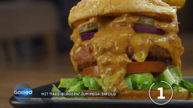 Mit Fake-Burgern zum Mega-Erfolg