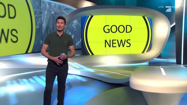 Montag: Good News - Lunge aus dem Drucker