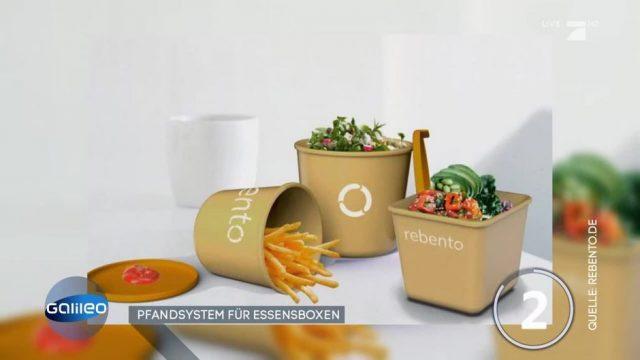 Nachhaltigkeit: Pfandsystem für Essensboxen