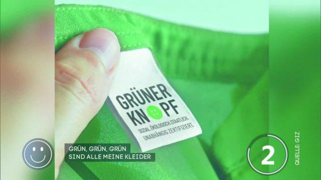 Neues Gütesiegel: Grüner Knopf zeigt, welche Kleidung nachhaltig produziert wurde