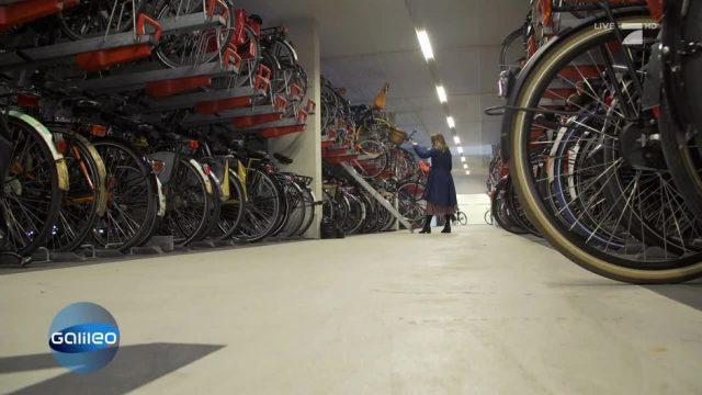 Niederlande: Das größte Fahrradparkhaus der Welt