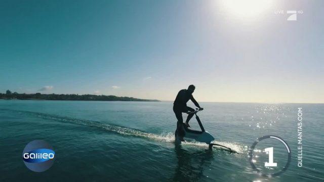 Paddeln statt Rudern: Neues Wasser-Fortbewegungsmittel